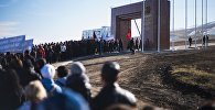 Пеший марш в Ата-Бейите. Архивное фото