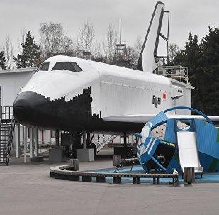 Макет космического корабля Буран. Архивное фото