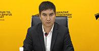 Түндүкэлектр ишканасынын электр энергиясын сатуу бөлүмүнүн башчысы Алмазбек Мадалбеков