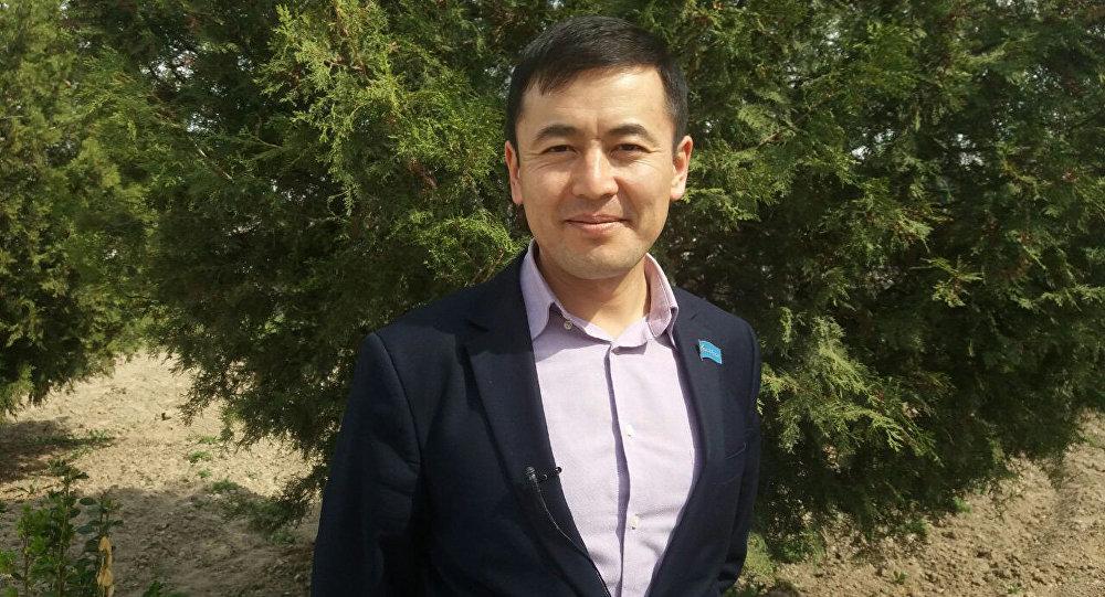 Ыйман фондусунун жетекчиси Нуржигит Кадырбеков. Архив