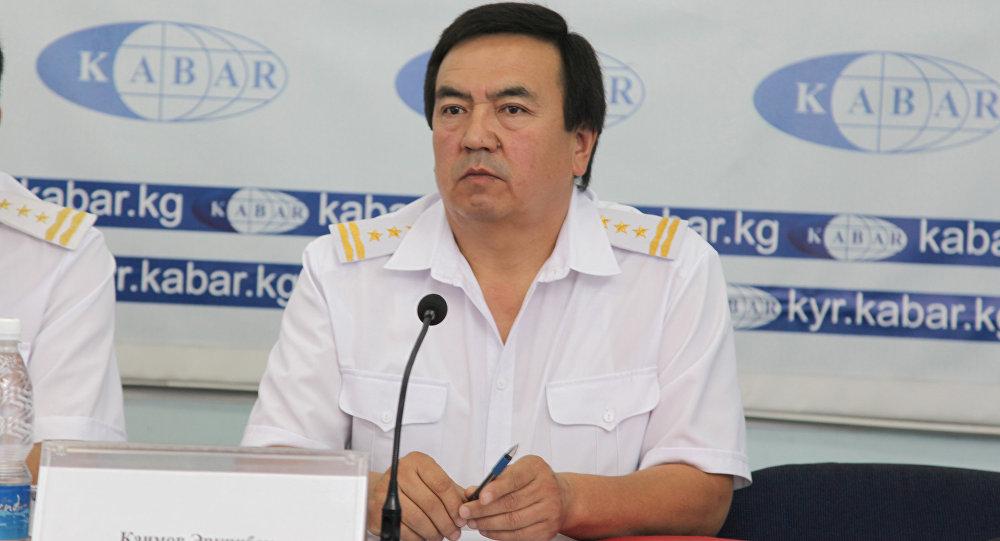 Кыргыз темир жолу улуттук компаниясы мамлекеттик ишканасынын маалымат катчысы Эркин Каимов