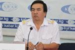 Кыргыз темир жолу Улуттук компания мамлекеттик ишканасынын маалымат катчысы Эркин Каимов