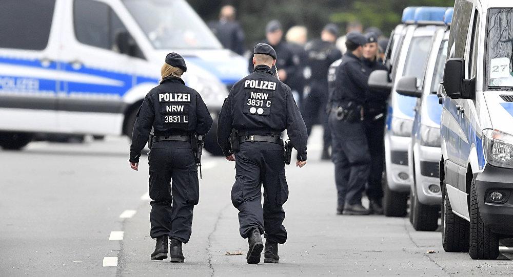 Сотрудники полиции Германии. Архивное фото