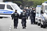 Германиянын полиция кызматкерлери. Архив