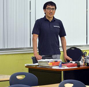 Учитель турецкого языка в Техасе, кыргызстанец Марат Сейитов. Архивное фото