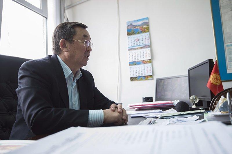 Заместитель начальника производственно-эксплуатационного управления Бишкекводоканал Мурадин Сейдалиев