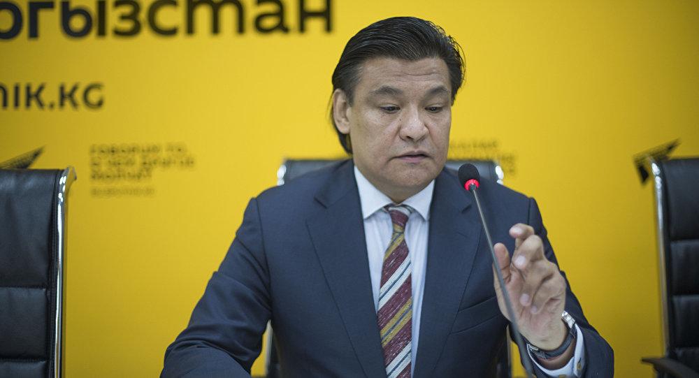 Советник премьер-министра КР по экономике Кубат Рахимов. Архивное фото