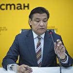 Председатель комитета по промышленной политике Торгово-промышленной палаты КР Кубат Рахимов