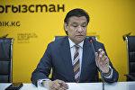 Председатель комитета по вопросам промышленной политики, экспорта, инфраструктуры и государственно-частного партнерства ТПП КР Кубат Рахимов. Архивное фото