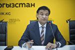 Председатель комитета по промышленной политике Торгово-промышленной палаты КР Кубат Рахимов. Архивное фото