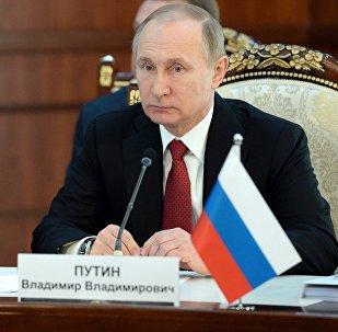 Россия президенти Владимир Путин Бишкектеги Евразиялык экономикалык жогорку кеңештин жыйынында