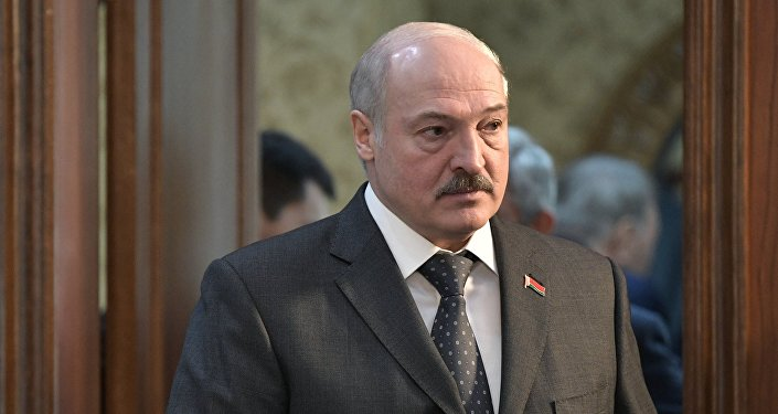 Белоруссия президенти Александр Лукашенко Борбор калаада өтүп жаткан Евразиялык экономикалык жогорку кеңештин кеңейтилген жыйынында