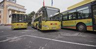 Автобусы, работающие на газе. Архивное фото