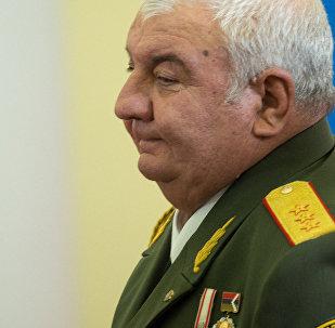 Архивное фото нового генерального секретаря Организации Договора о коллективной безопасности Юрия Хачатурова