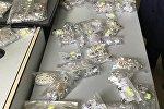 Серебряные ювелирные изделия изъятые у кыргызстанца в международном аэропорту Манас
