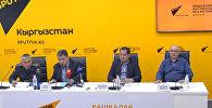 О ремонте бишкекских дорог рассказали в пресс-центре Sputnik Кыргызстан