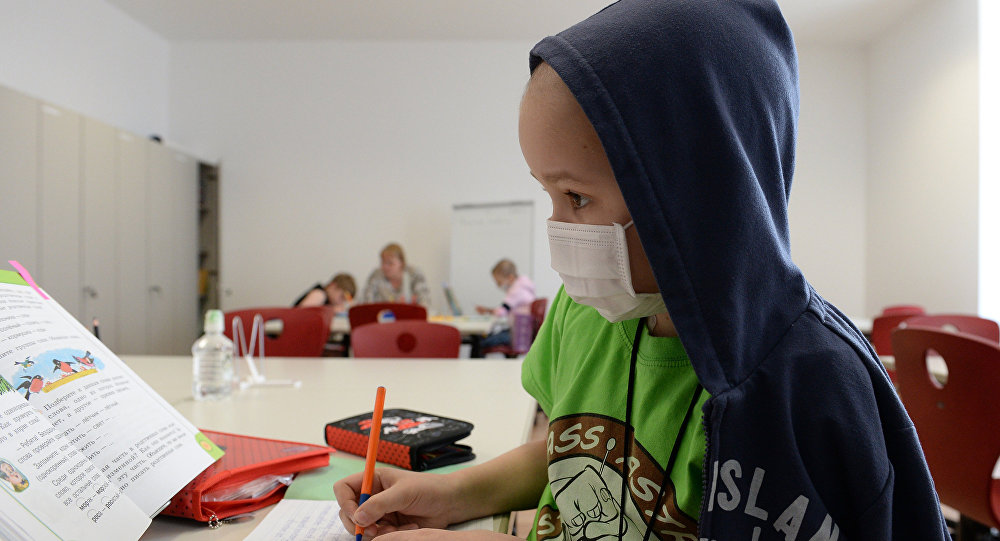 Пациент центра детской гематологии, онкологии и иммунологии. Архивное фото