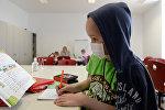 Пациент в детской онкологии. Архивное фото