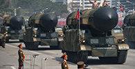 Пхеньяндагы аскердик парад. Архив