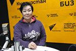 Россиянын Кухня сериалына тартылып башталган Жаңыл Асанбекова