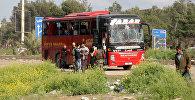 Алепподогу жардыруудан жабыркаган автобус