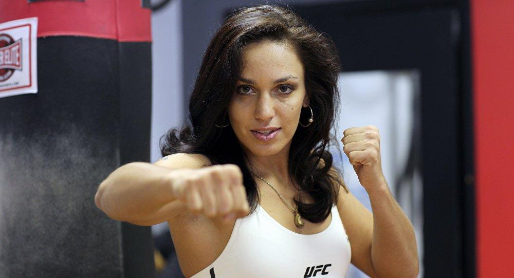 UFC мушкери Антонина Шевченко. Архивдик сүрөт