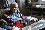 Италияда дүйнөнүн эң улуу жашоочусу деп эсептелген 117 жаштагы Эмма Морано