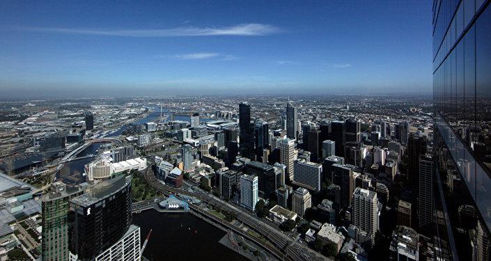 Мельбурн шаары. Архивдик сүрөт