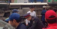 Бишкекте эл ташыган маршрутканын кырсыкташы