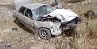 В Кочкоре столкнулись две Audi, погибла женщина — кадры с места ДТП