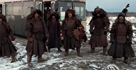 Опять тает лед — каскадеры Кыргызстана и Казахстана сняли клип на трек