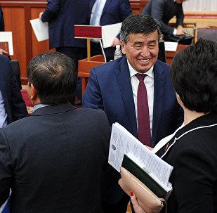 Премьер-министр Кыргызской Республики Сооронбай Жээнбеков представил отчет о деятельности Правительства Кыргызской Республики
