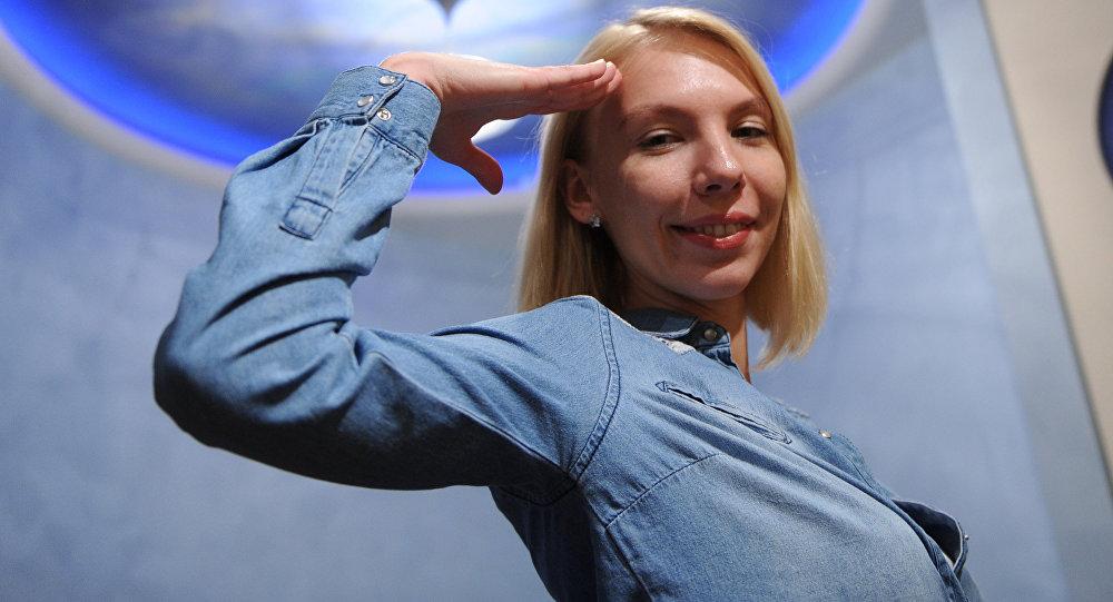 Анастасия Степанова, прошедшая во второй тур конкурса на участие в программе Mars One - экспедиции на Красную планету без права на возвращение.