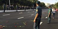 Сотрудники милиции Узбекистана. Архивное фото