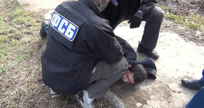 Теракт в Петербурге: обнародовано видео задержания уроженца КР
