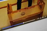 Видео, в котором демонстрируется бешик — колыбель-трансформер. Фото со страницы Facebook пользователся Серик Болат