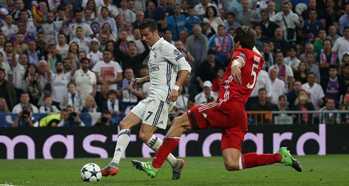 Реал Мадрид чабулчусу Криштиану Роналдудун Баварияга киргизген голу