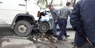 ДТП с участием буса и легкового авто в селе Новопокровка