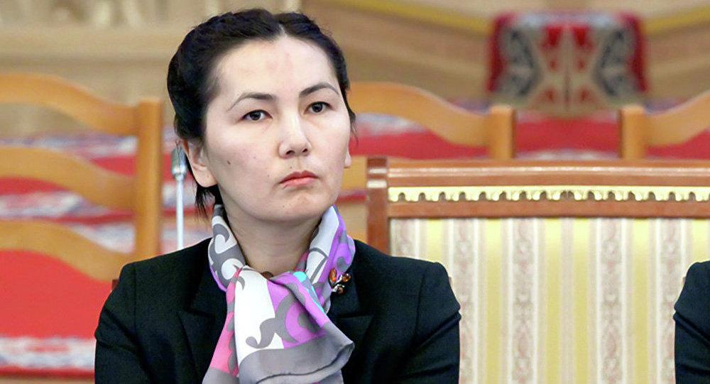ЖК депутаты Аида Салянованы архивдик сүрөтү