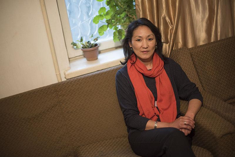Руководитель транзитного социального дома Нур Анара Омуркулова