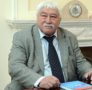 Российский этнограф и тюрколог Виктор Бутанаев. Архивное фото