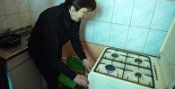 Салам-Алик жаңы конушунун 800 тургунуна газ киргизилгенин Газпром Кыргызстан ишканасынан билдиришти