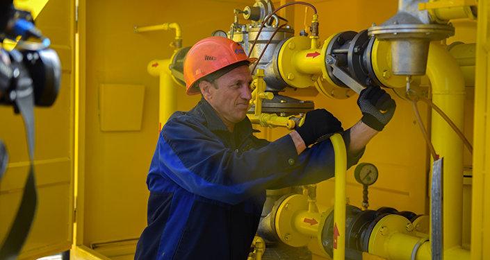 Газ түтүктөрүн куруп, ири конушту газга кошуу иштери аталган компаниянын инвестициялык программасынын алкагында ишке ашырылды