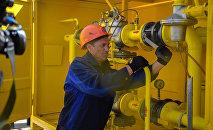 Ремонт газовых труб. Архивное фото