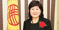 Глава пресс-службы посольства Кыргызстана в России Гулбарчын Байымбетова. Архивное фото