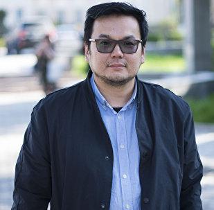 Кандидат исторических наук, директор аналитического цента Разумные Решения Эсен Усубалиев. Архивное фото