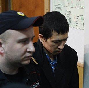 Рассмотрение ходатайства следствия об аресте А. Азимова в Басманном суде