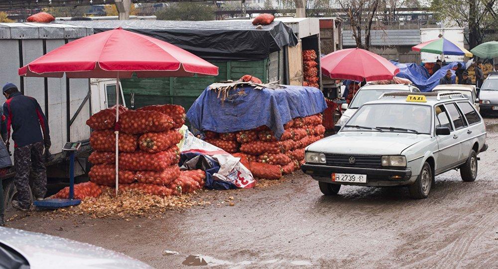 Дыйкан-Пишпек базары. Архив