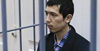 Предполагаемый организатор теракта в метро Петербурга Аброр Азимов на заседании в Басманном суде Москвы. Архивное фото