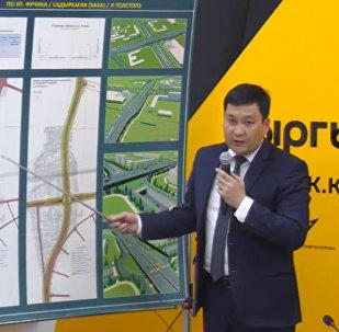 Транспортные развязки на западе Бишкека обновятся в 2018 году — аким
